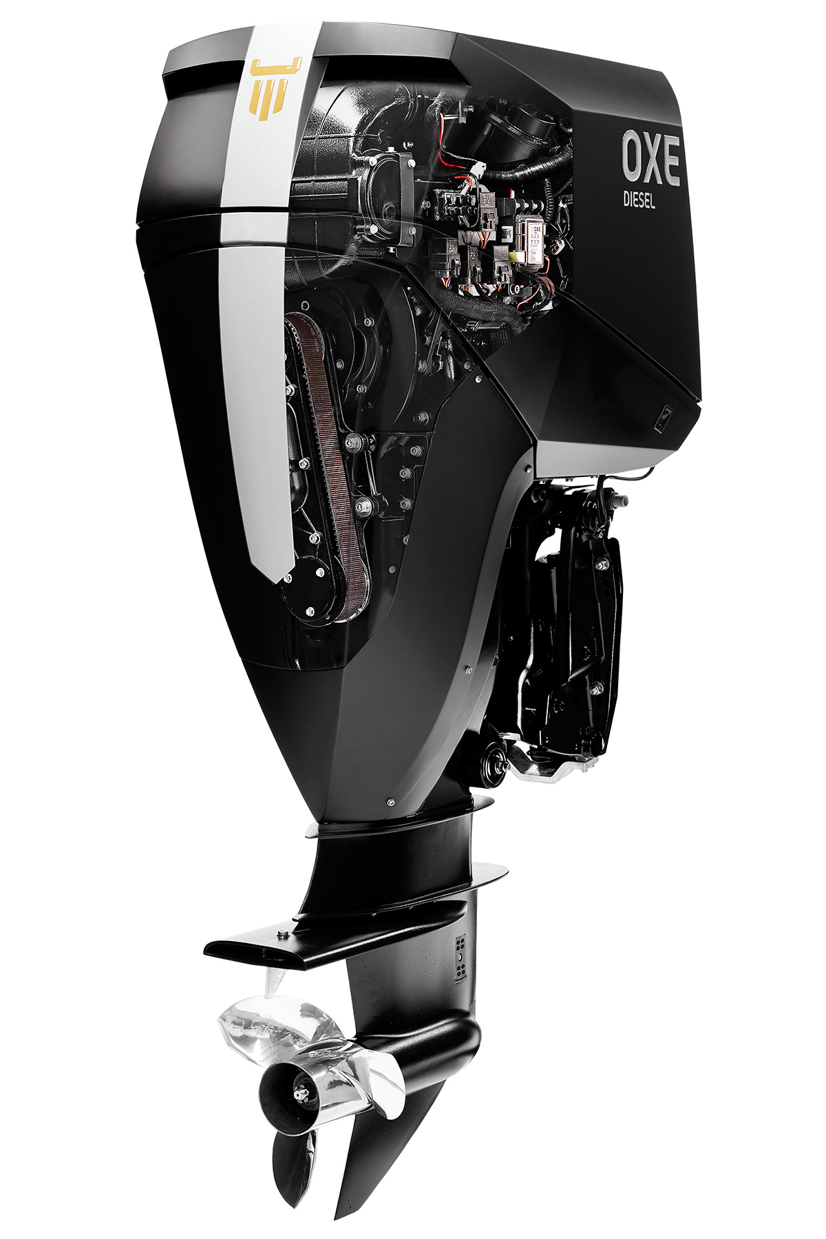 Oxe 200hp diesel outboard engine tested page 2 of 3 for Best 8 hp outboard motor