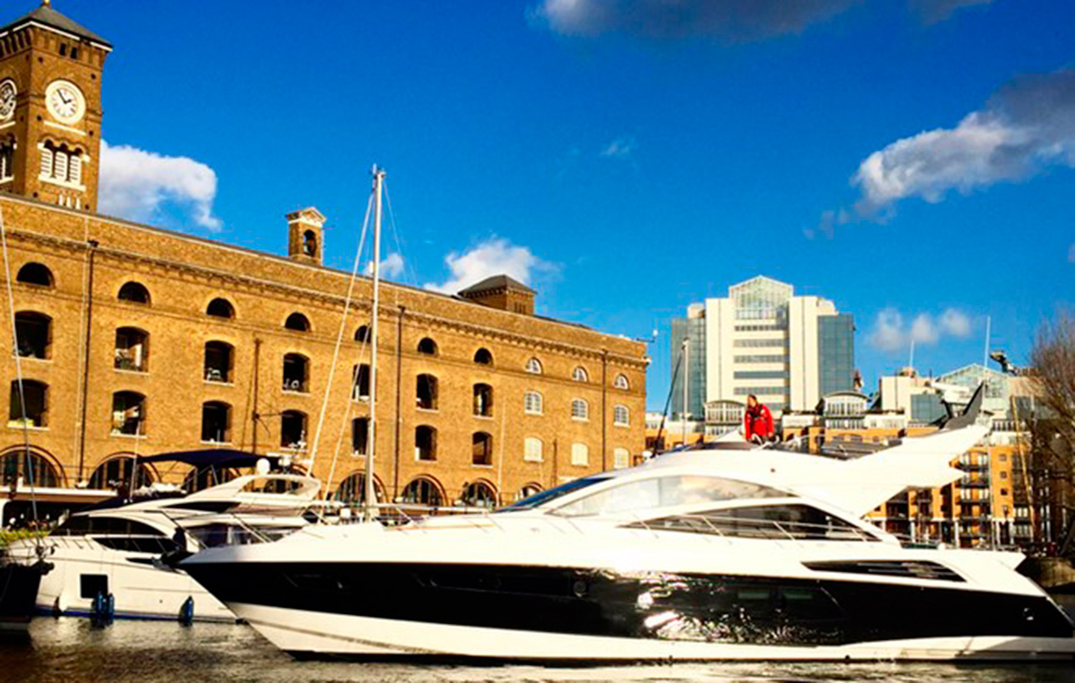 Sunseeker at London On-Water