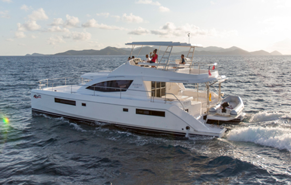 The Moorings 514PC, available for Seychelles charter from April 2016