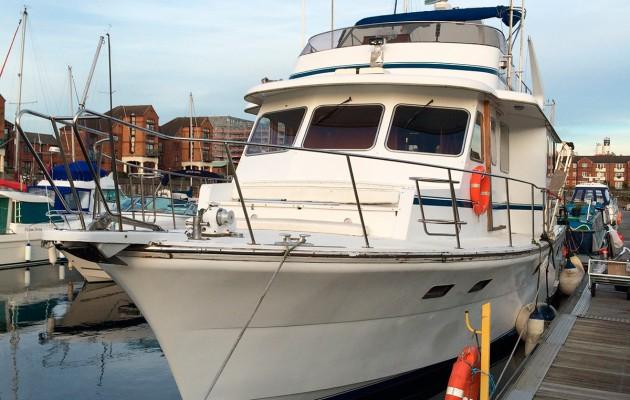 Cheoy Lee 47 Trawler fulltime boater