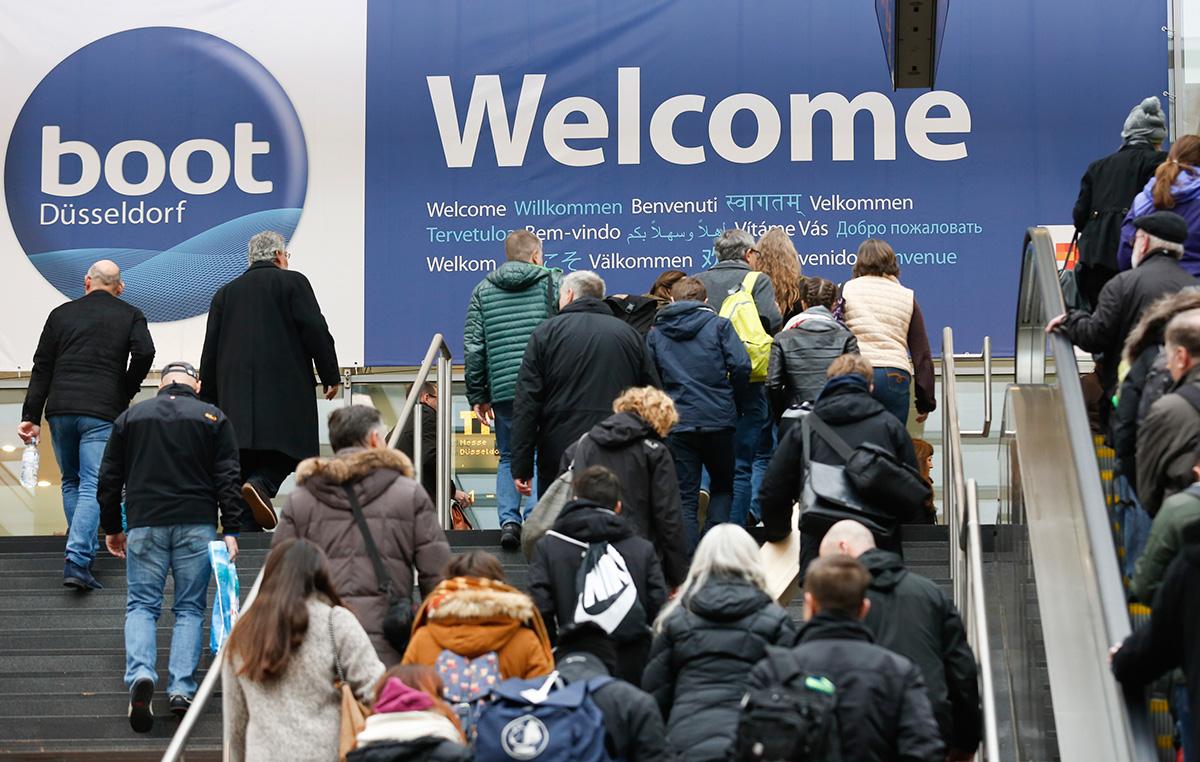 Boot Düsseldorf visitors rise 2016