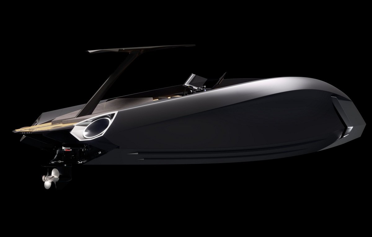 Gevera G35 concept from Gervera Boats