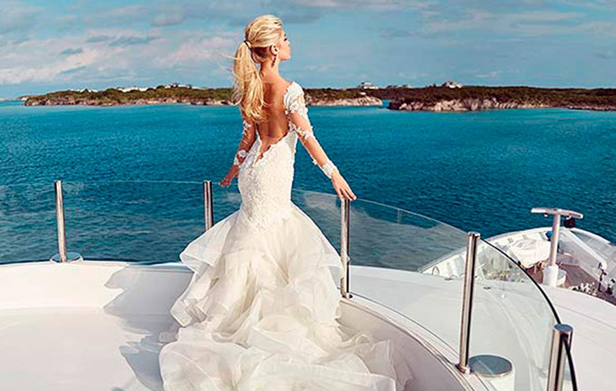 Superyacht Wedding on MY Seanna