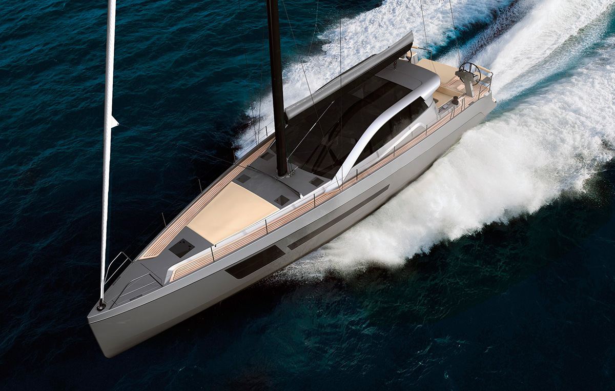 Bd56 motor sailer promises the best of both worlds motor Best motor boats
