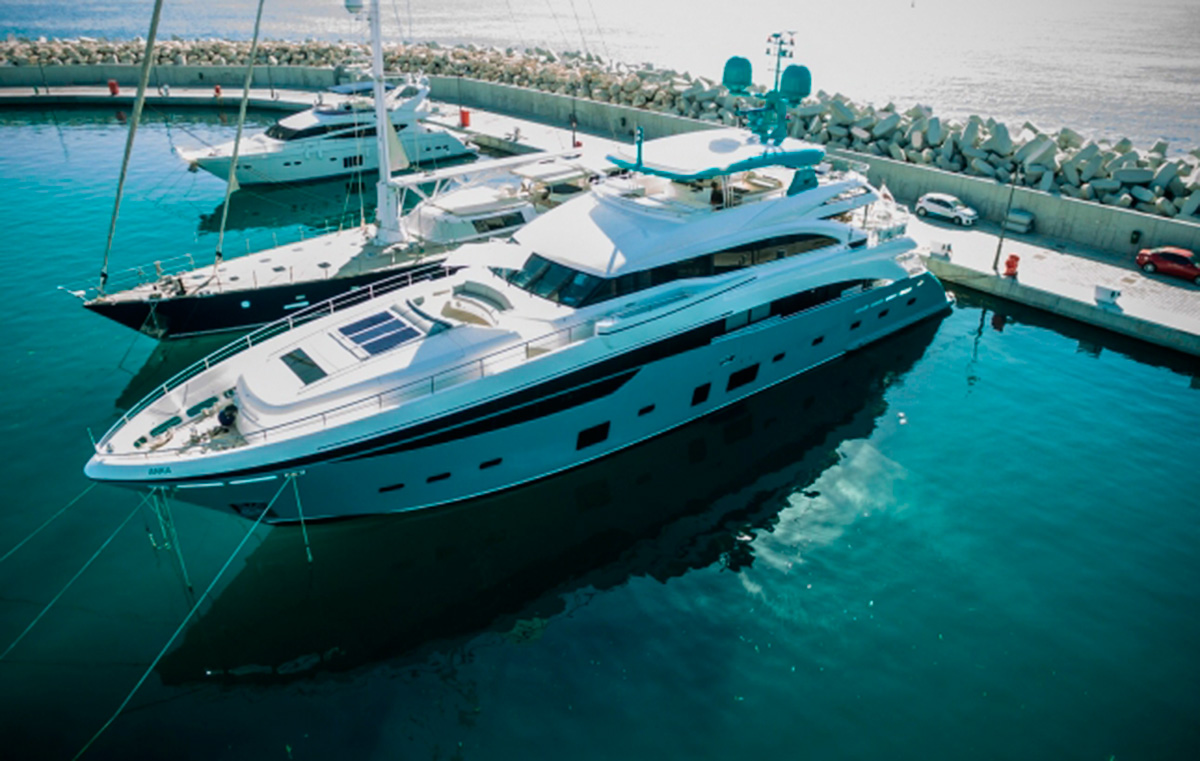 Princess 40M Anka Available For Charter