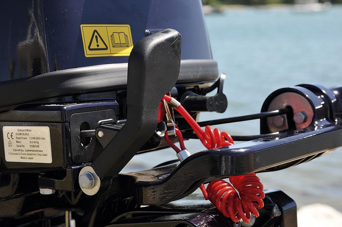 Tohatsu 9 8hp Outboard Gear Shift