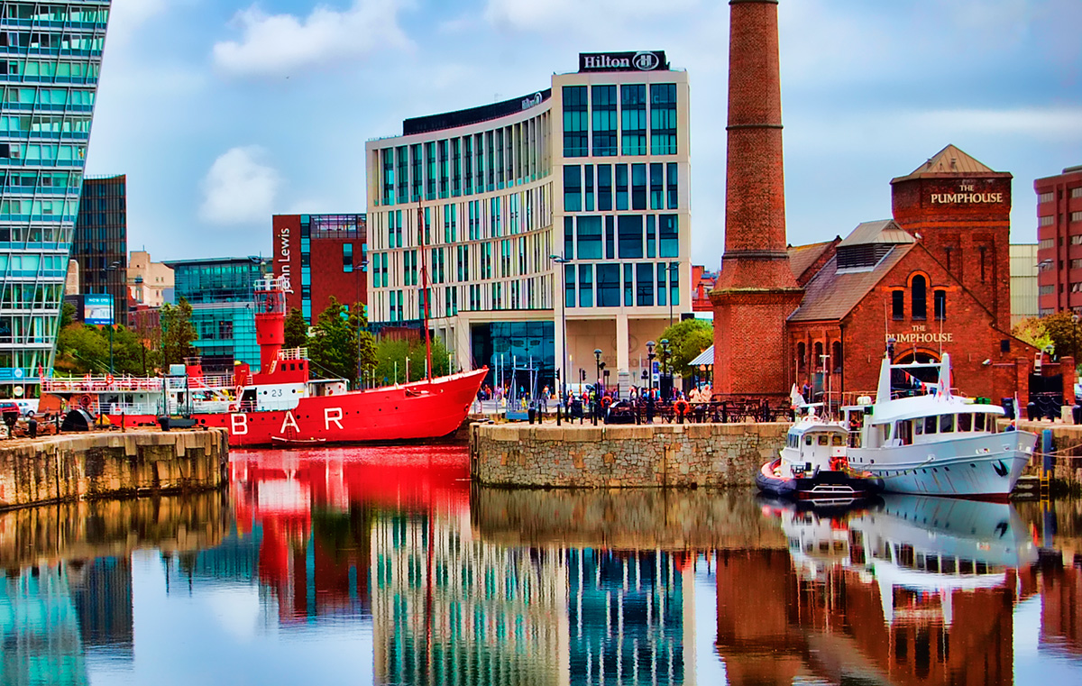 Salthouse Dock Liverpool, site of the 2016 Northern Boat Show