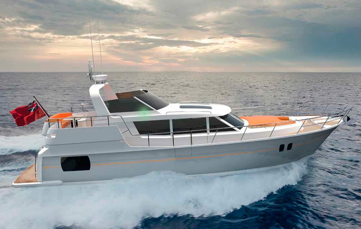 Trader Motor Yachts 42 Signature