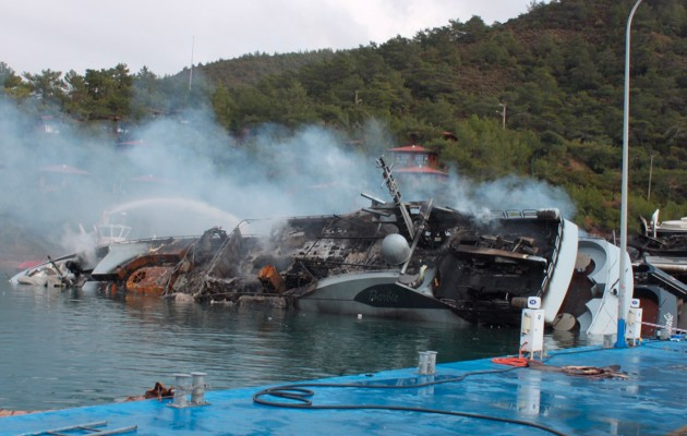 Insurers pay out $20m after Marmaris superyacht fire  Velos