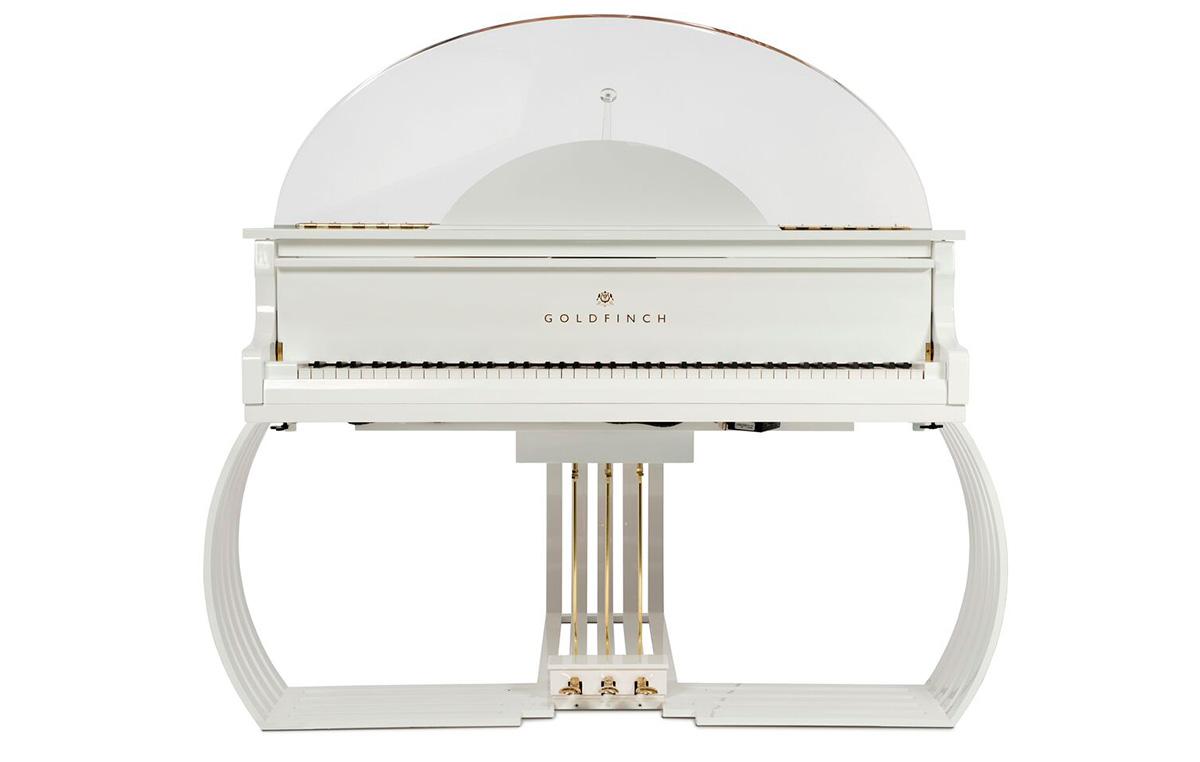 Goldfinch Sygnet superyacht grand piano