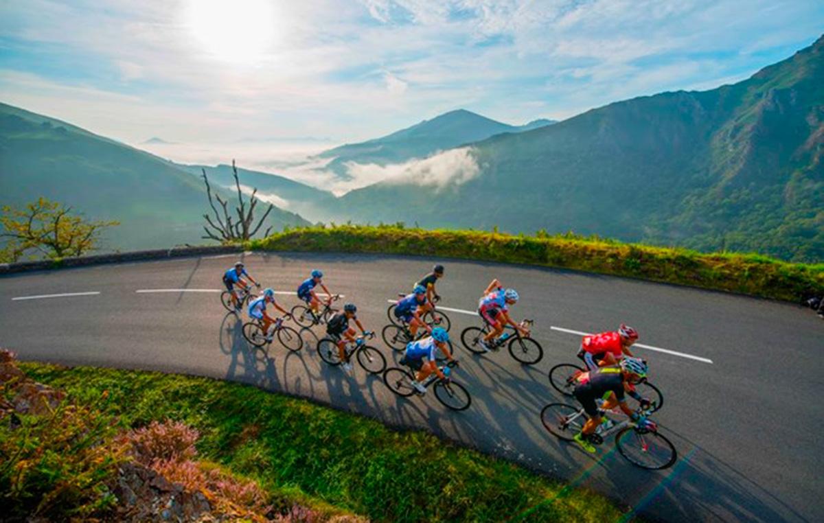 London to Monaco bike ride