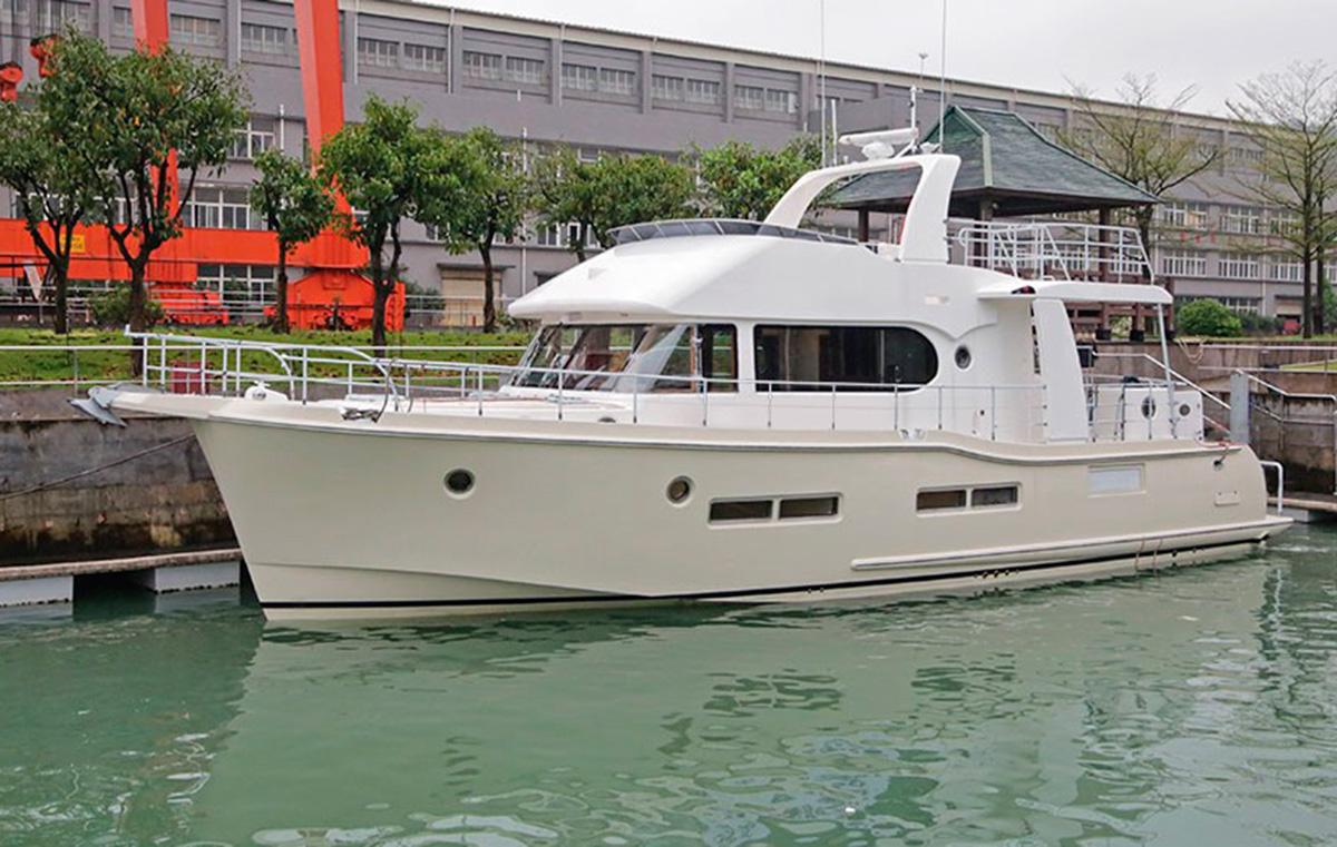 Nordhavn 59 Coastal Pilot Hits The Water Motor Boat