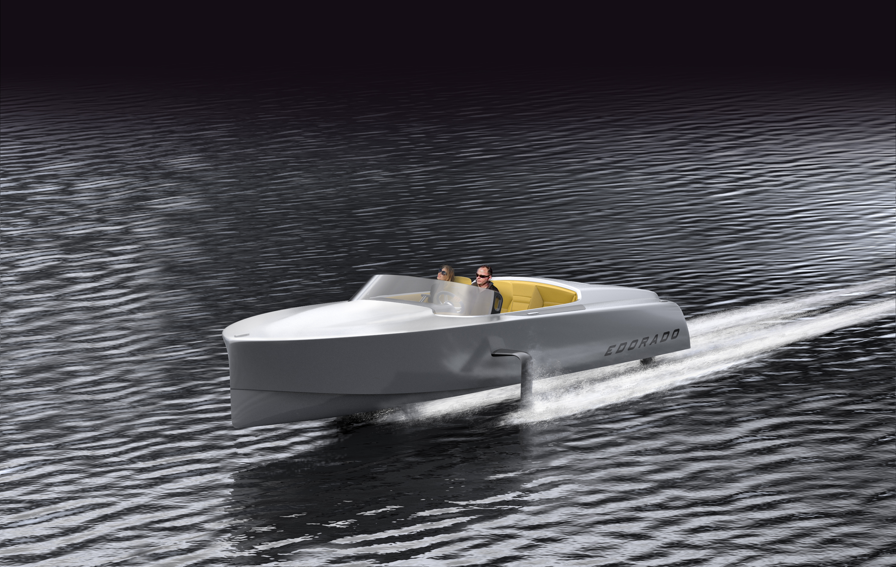 She S Electric Motor Boat Yachting