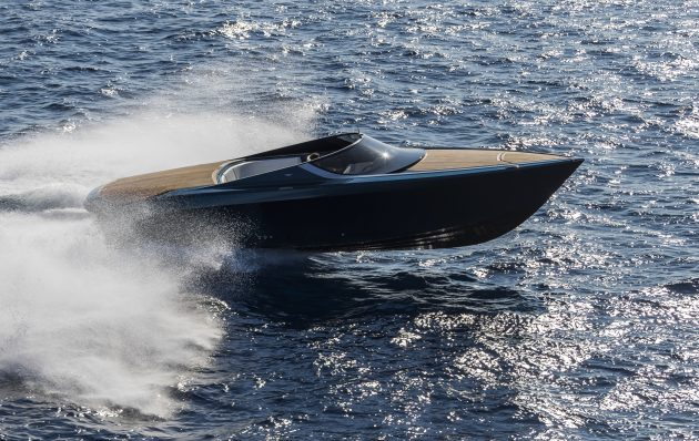 The Aston Martin AM37 powerboat