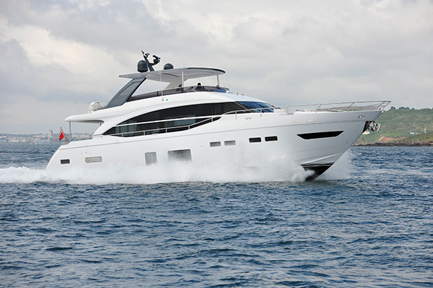 video princess 75 motor yacht review motor boat yachting