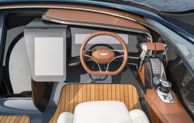 New Pictures Reveal Aston Martin 37 Cockpit Motor Boat Yachting
