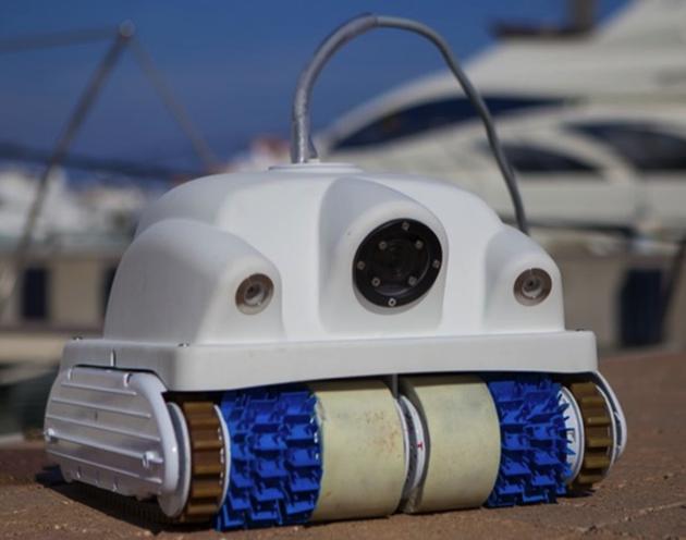Keelcrab Cleaning Robot Seeks Investors Motor Boat