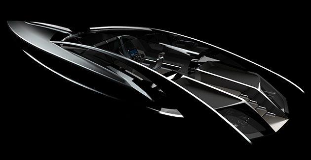 Timur Bozca's sleek new motor yacht concept