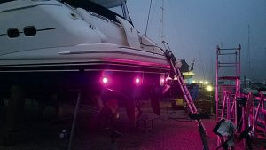 How to install underwater lights