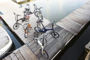 Electric folding bike group test