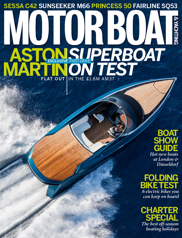 February 2017 motor boat yachting for Motor boat awards 2017