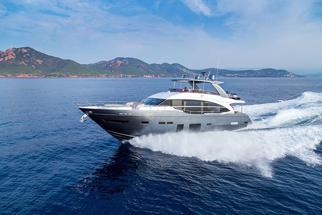 In pictures the boats that won the 2017 motor boat awards for Princess 75 motor yacht