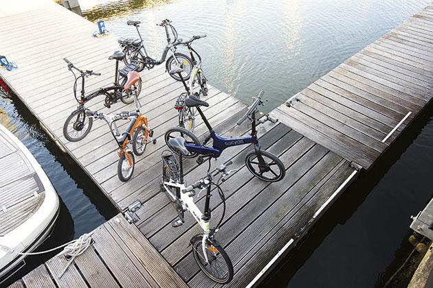 Electric Folding Bike test