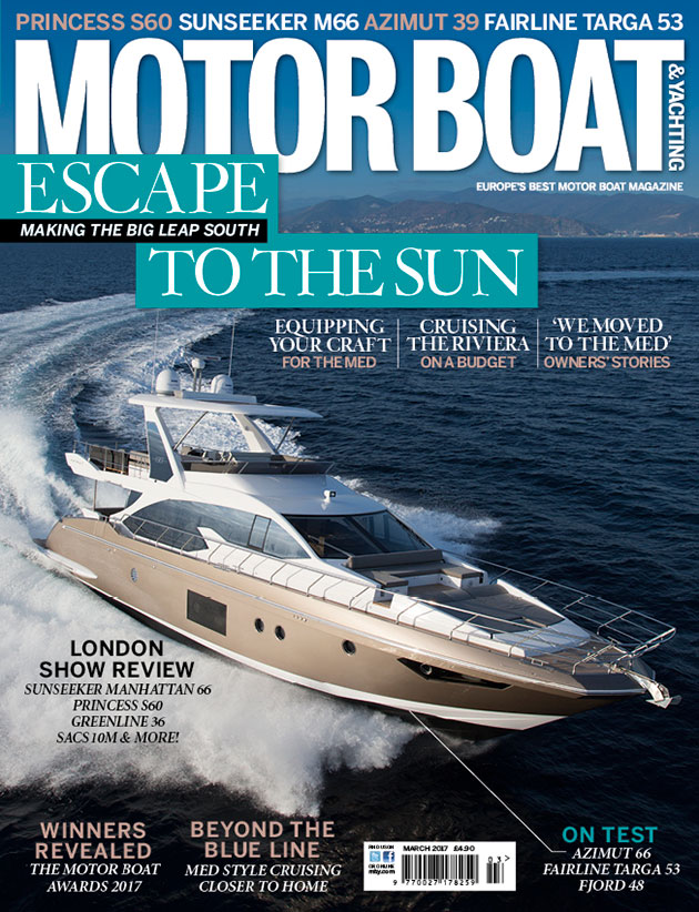The march 2017 issue of mby is out now motor boat for Motor boat awards 2017