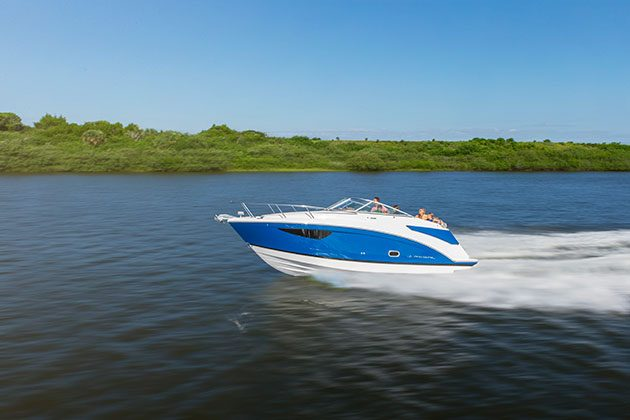 The Regal 26 Express will be one of the first boats to arrive in the UK