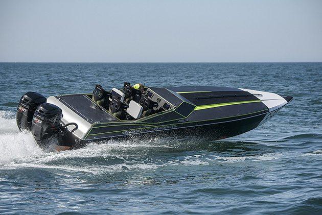 Phantom race boat