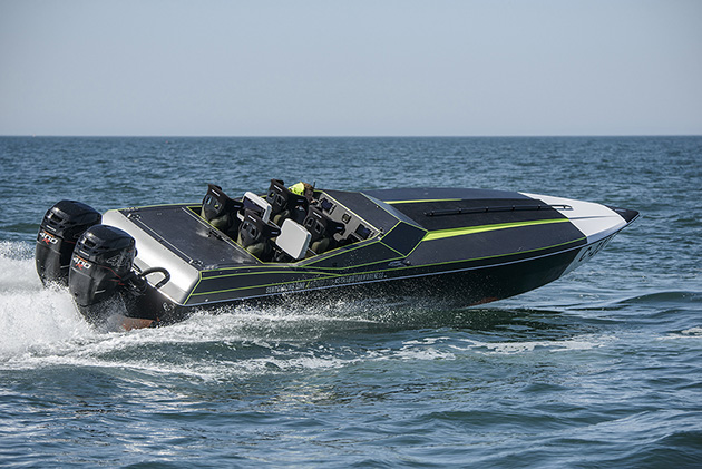 Phantom race boat