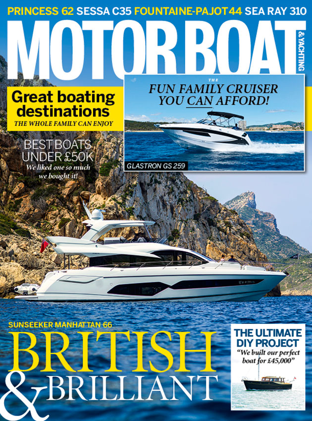 MBY August 2017 featuring the Sunseeker Manhattan 66