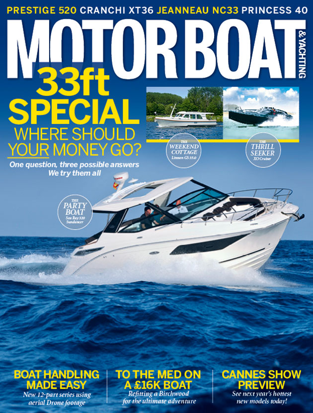 In this issue we review the XO Cruiser, Linssen 35.0 Sedan and Ses Ray 320 Sundancer