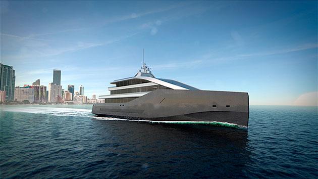 Rolls-Royce yacht