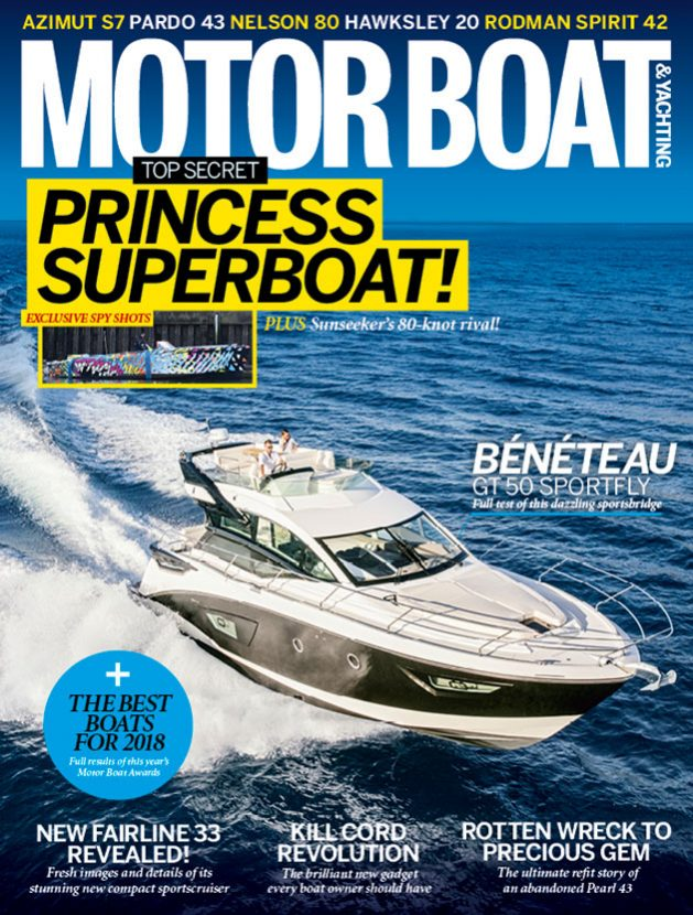 Motor boat yachting march 2018 is out now motor boat for Motor boat awards 2017