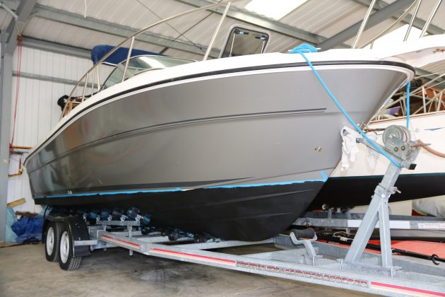 Tried And Tested International Micron 77 Antifouling Motor Boat