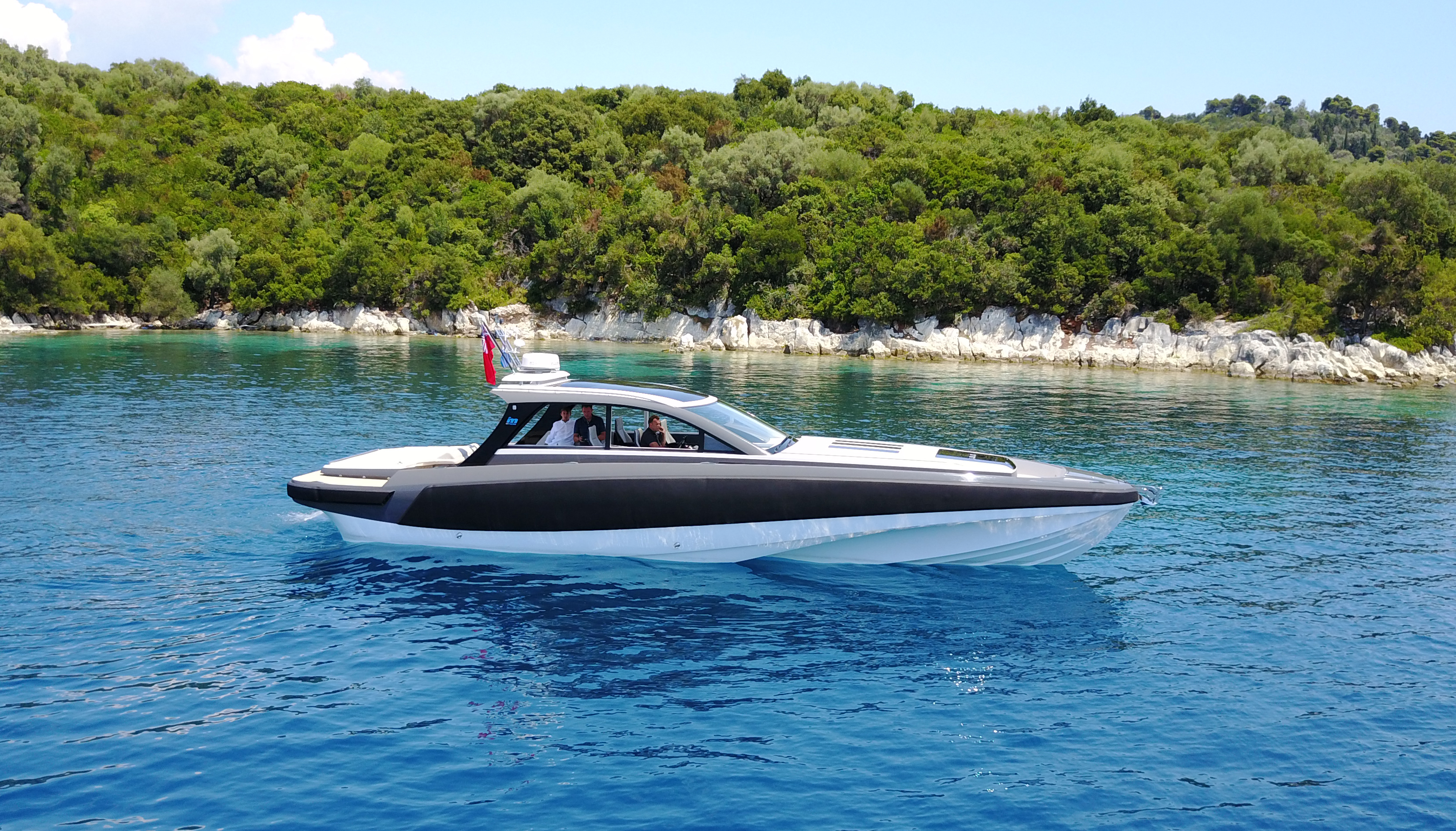 the new brit pack: aston martin am37 - motor boat & yachting