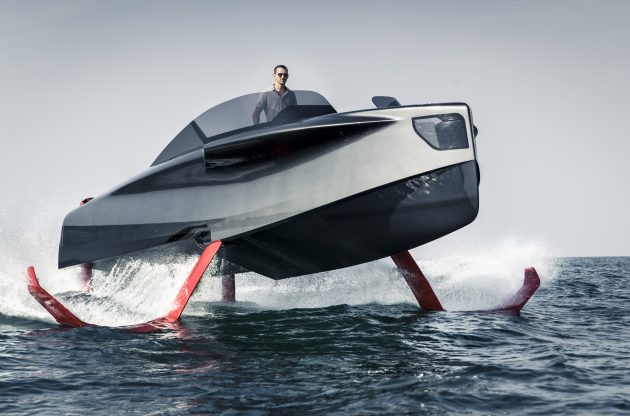 how do hydrofoil boats work