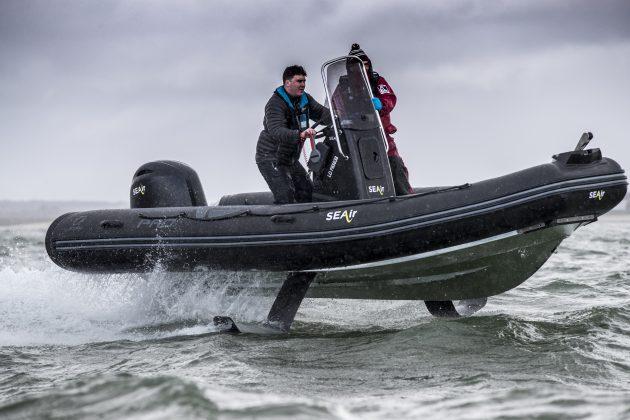Boat test: SEAir foiling RIB - Motor Boat & Yachting
