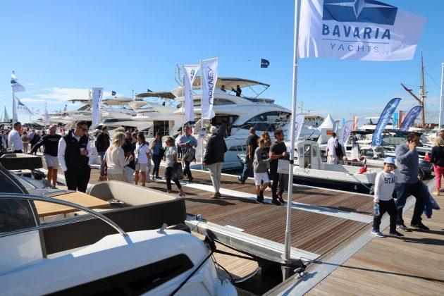 Bavaria Yachts at Southampton Boat Show