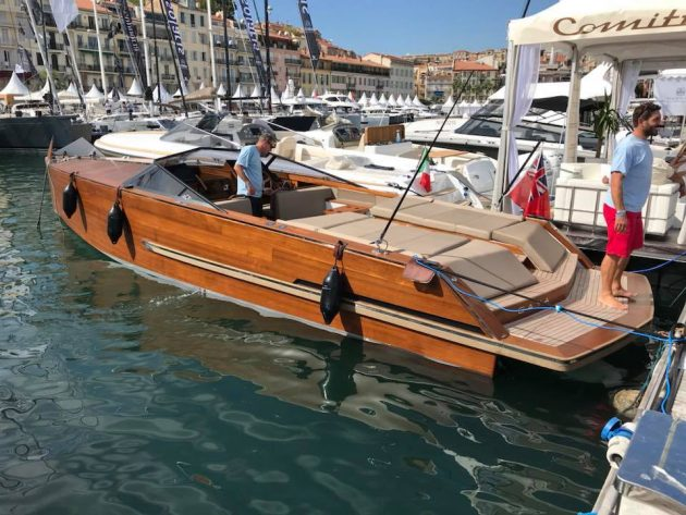 Cockwells Titian Tender at Cannes Boat Show
