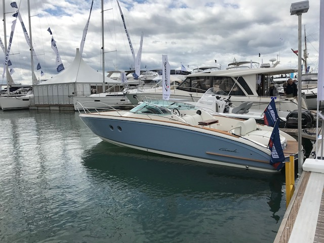 Cormate T27 Supermarine at Southampton Boat Show