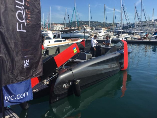 Foiler by Enata at the Cannes Boat Show