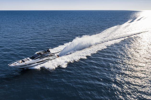 Pershing 9X test - Motor Boat & Yachting