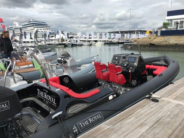 The Royal powerboat Southampton Boat Show