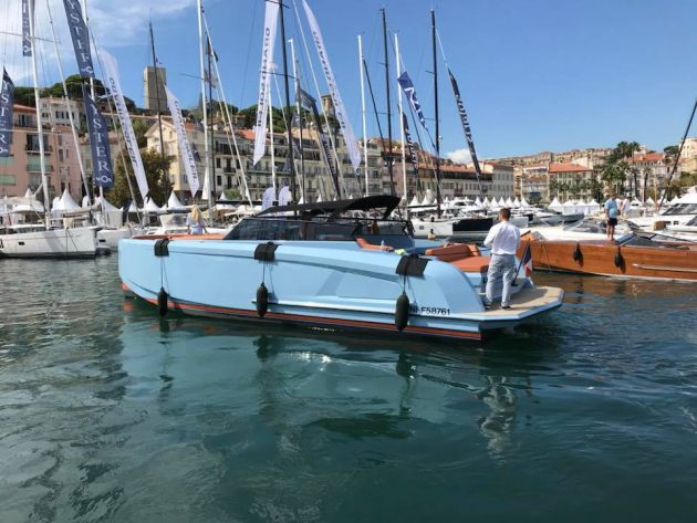 Vanquish VQ 43 at Cannes Boat Show