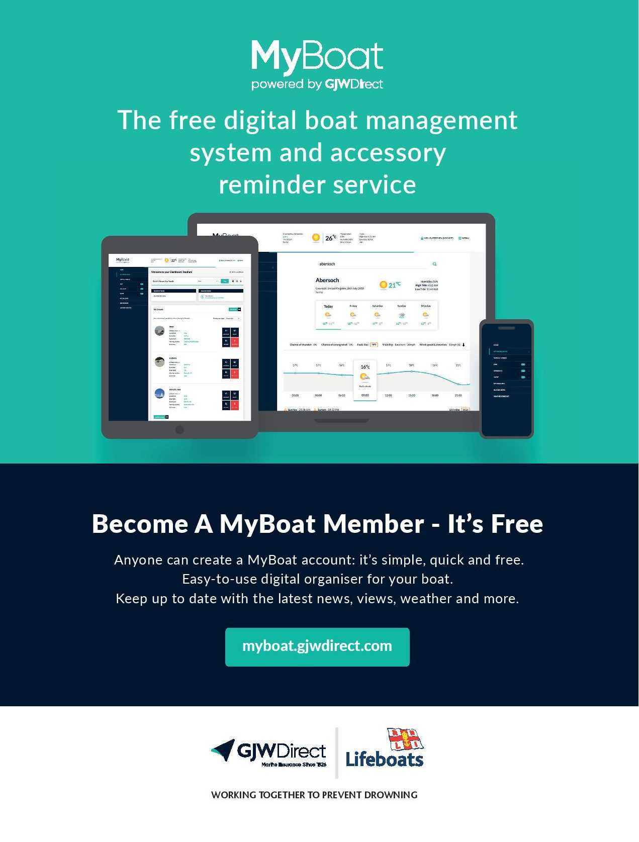 MyBoat: the powerful, easy-to-use, digital organiser for your vessel