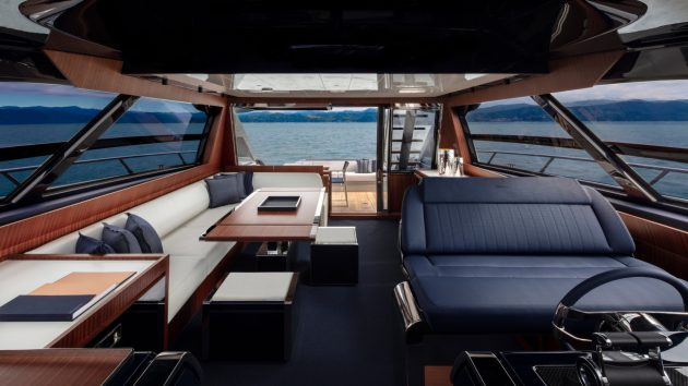 Riva 66 Ribelle saloon and helm station