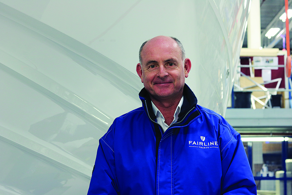 Russell Currie Managing Director Fairline