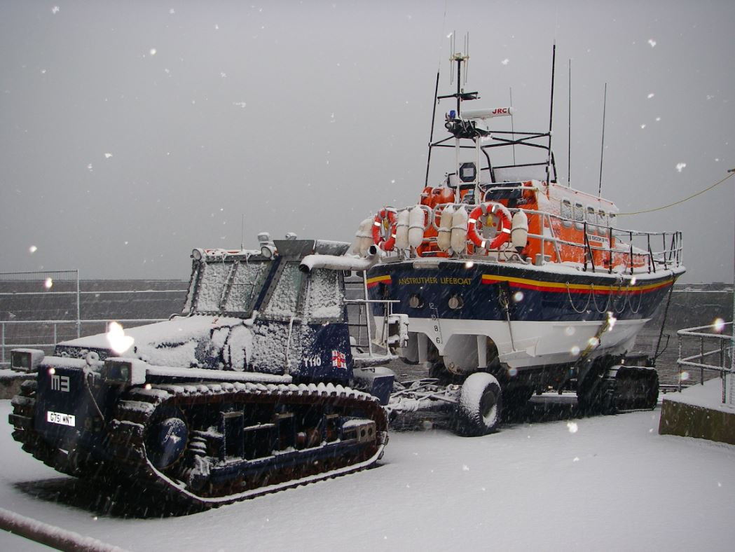 RNLI Anstruther Christmas rescue
